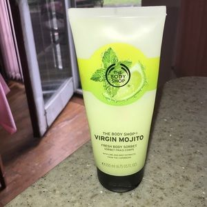 Limited edition Mojito body sorbet